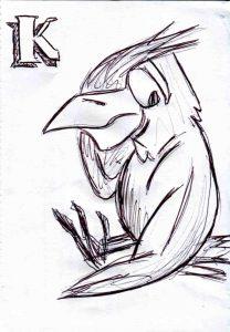 Entwurfszeichnung K