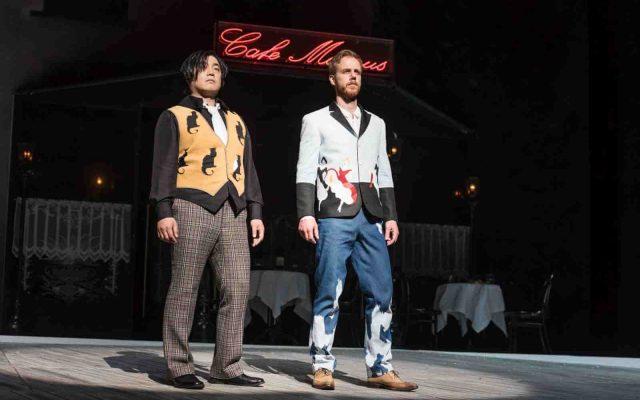 Rodolfo und Marcello (Carlo Cho, Todd Boyce): Szenenphoto vom «Prix Juste-au-Corps»