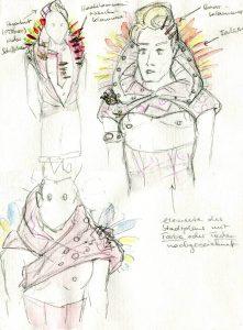 Entwurfsskizze für Nerillo